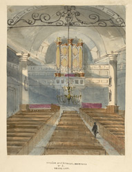 Church of St Nicholas, Deptford, interior f.37